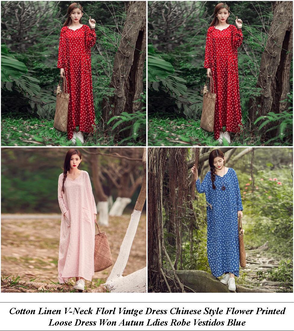Vintage Dresses - Winter Clothes Sale - Red Dress - Cheap Summer Clothes
