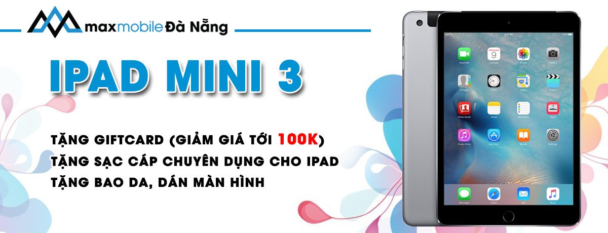 Ipad mini 3 tại Đà Nẵng