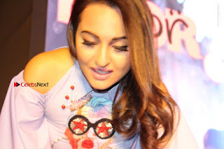 Actress Sonakshi Sinha at the Song Launch of Film Noor  0070.JPG
