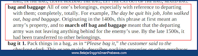 Arti March off Bag and Baggage