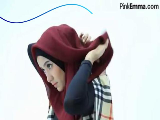 Tutorial Hijab Segi Empat Untuk Lebaran