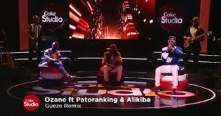 Ozane Ft. Alikiba + Patoranking - Gueze Remix