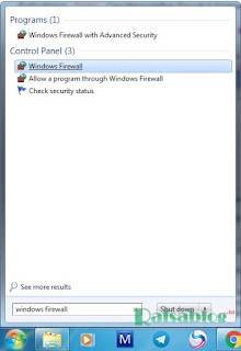 Cara Mematikan Firewall di Windows 7, 8, 10