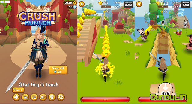 Crush Runner V1.4 Apk for Android