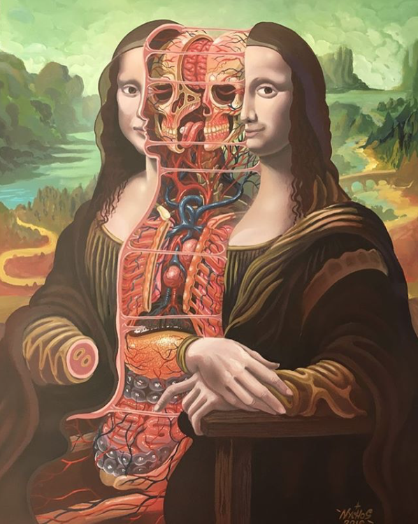 dissection of mona lisa by nychos