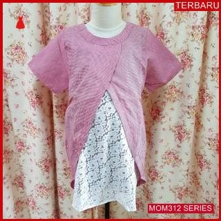 MOM312B22 Baju Atasan Hamil Lacenia Menyusui Bajuhamil Ibu Hamil