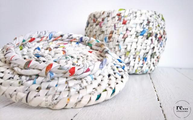 basket, casket, jewellery box, wicker paper, newspaper basket, recycle, paper, koszyk, szkatułka na biżuterię, papierowa wiklina, koszyk, splot spiralny