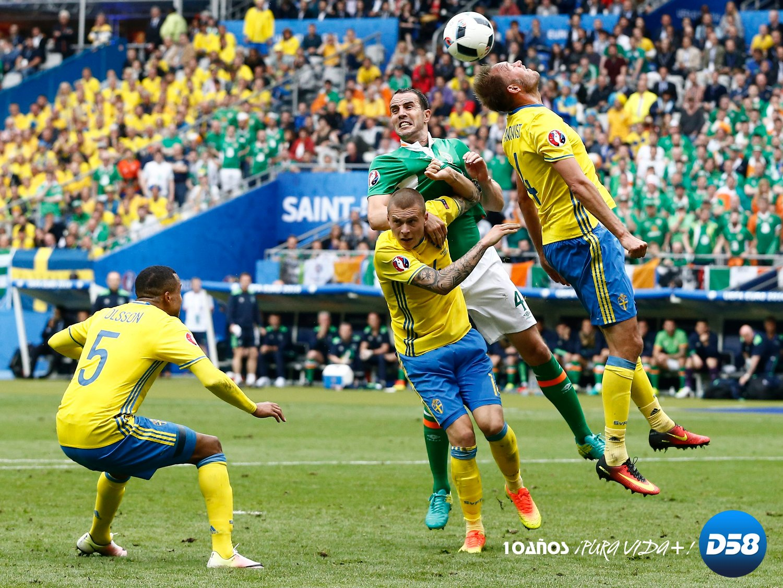 No Para Irlanda A Suecia EurocopaEl Corazón Bastó Derrotar De IgyfbmY6v7
