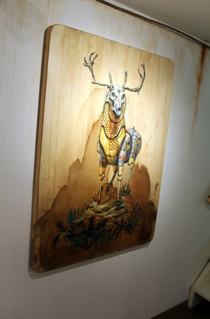 """Coverage Of Pixel Pancho """"The Garden Of Eden"""" New Solo Show In Turin, Italy 8"""