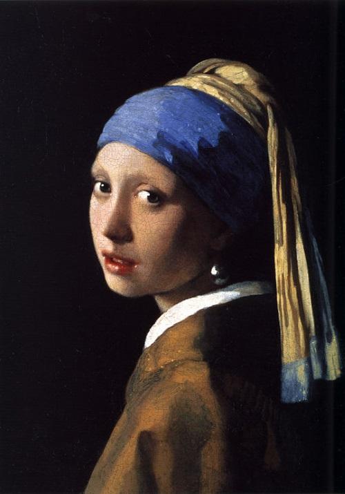 Moça com Brinco de Pérola, pintura de Johannes Vermeer.