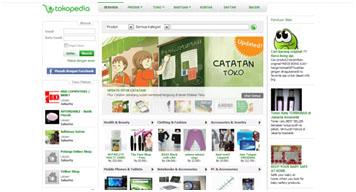 Homepage Tokopedia.com