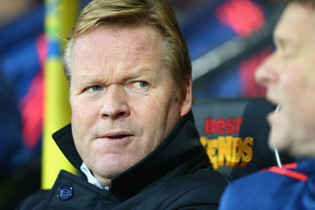 Ronald Koeman: Any player who wants to misbehave will be in the stands indefinitely