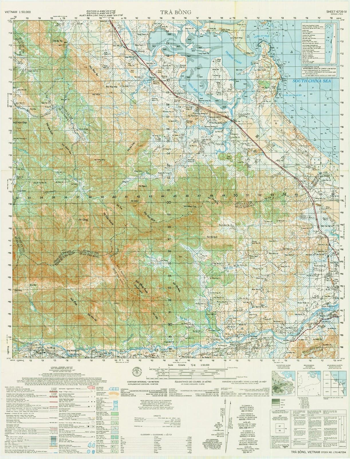 Bản đồ Quảng Ngãi – Chu LaI-Đức Phổ