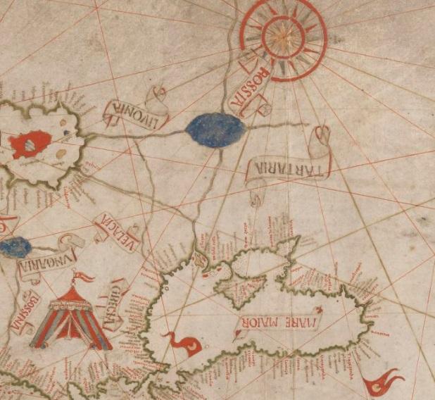 Древнее море на территории Украины