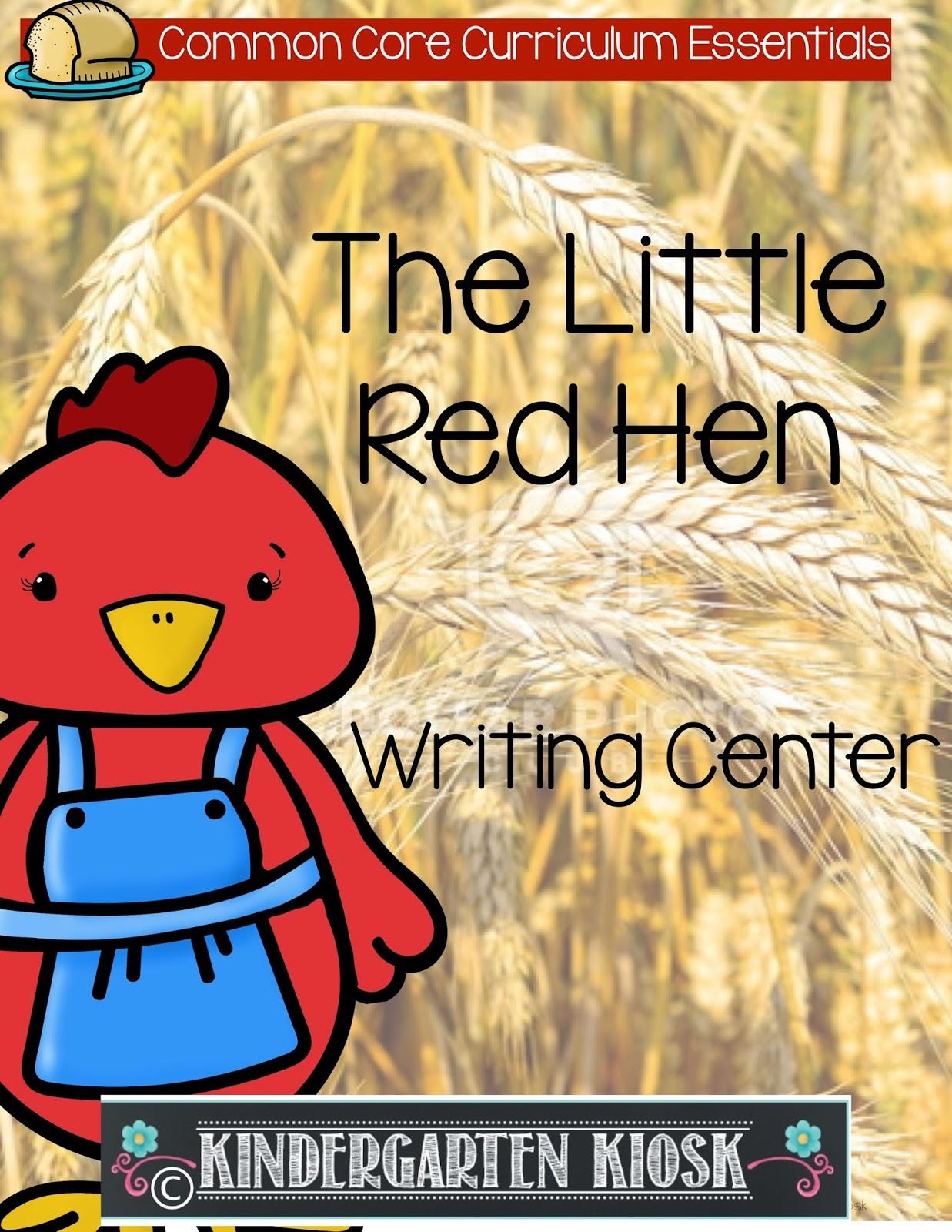 Kindergarten Kiosk The Little Red Hen