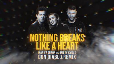 Mark Ronson ft. Miley Cyrus - Nothing Breaks Like A Heart (Don Diablo #Remix)