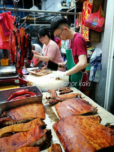 Hai Kee. Best Roast Pork Meat in Kluang Series 海记肉商