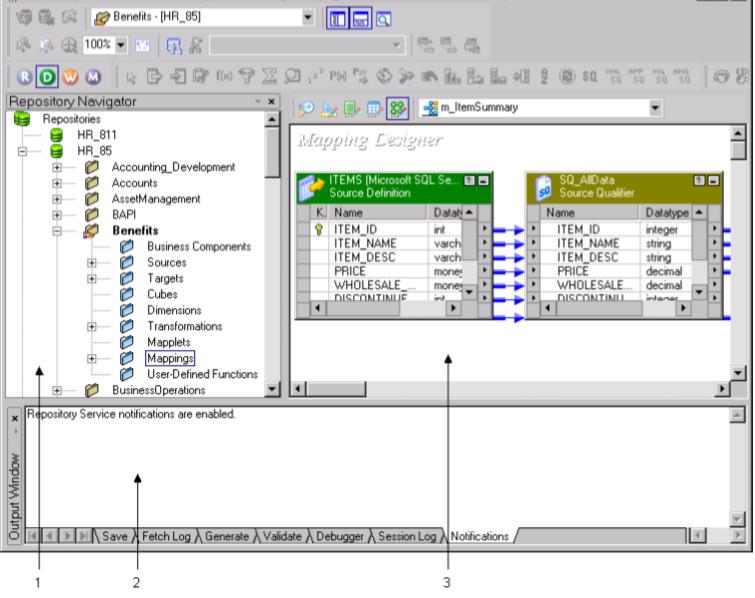 PowerCenter Designer , Mapping Architect for Visio ... on marketing designer, building designer, gaming designer, engineering designer, tool designer, electrical designer, presentation designer, audio designer, database designer,
