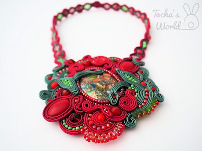 Secret Garden Soutache Necklace