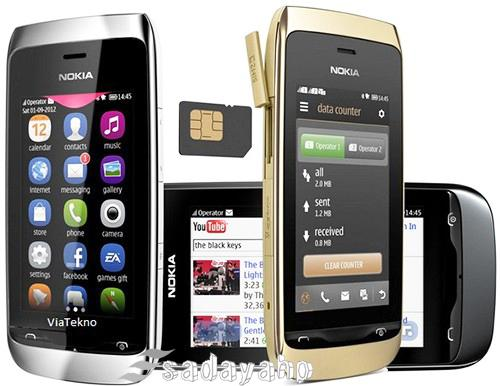 Gambar Hp Nokia Asha