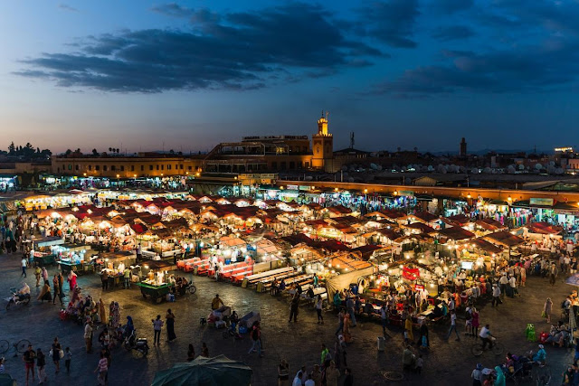 Sights in Morocco