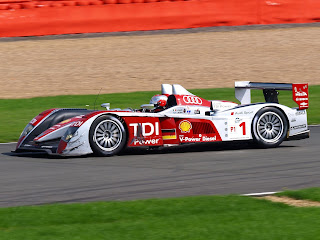 Capello at the wheel of his Audi R10 during the 1000km of Silverstone race in 2008