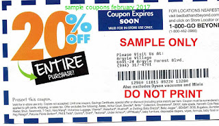 free Bed Bath and Beyond coupons for february 2017