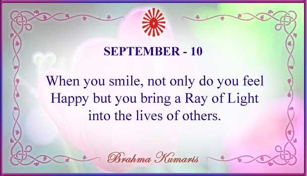 Thought For The Day September 10