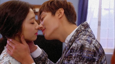 The Inheritors, aka The Heirs, Romantic Scene, TV Series, Lee Min Ho and Park Shin Hye play the lead characters Kim Tan and Cha Eun Sung