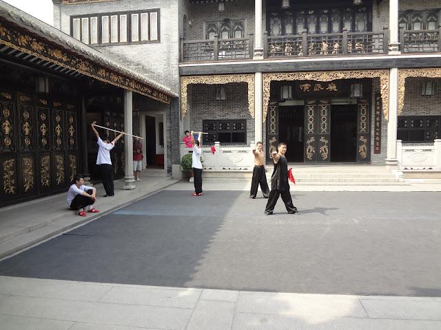 Escuela de kung fu del templo de los ancestros de Foshan