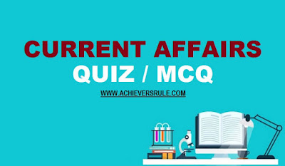 Daily Current Affairs Quiz - 10th January 2018