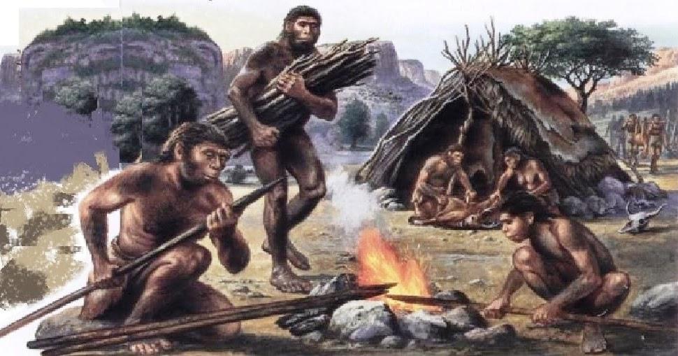 Gli adulti Costume da uomo di Neanderthal Uomo delle Caverne Costume Medievale GROTTA PREISTORICA
