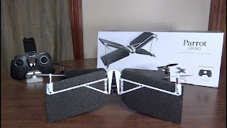 Spesifikasi Drone Parrot Swing - OmahDrones