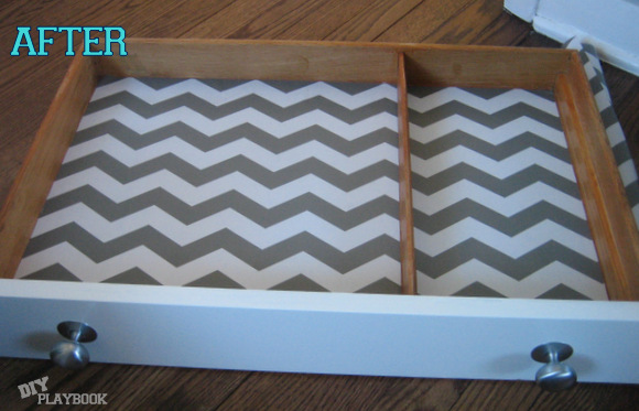 DIY Shelf Liner