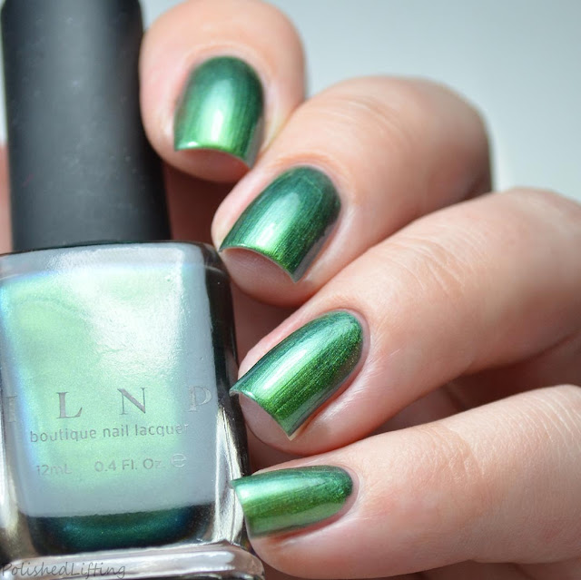 green to blue multichrome nail polish