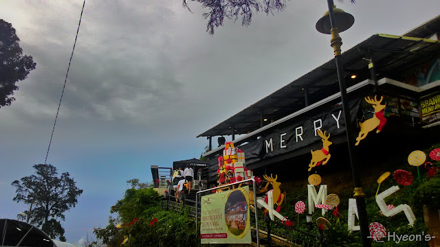 penang hill, restaurant