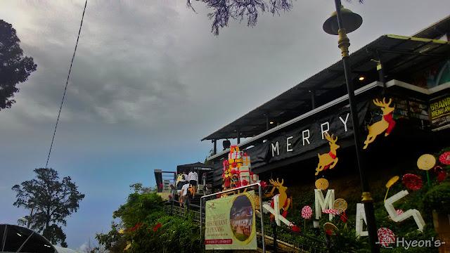 penang hill, restaurant
