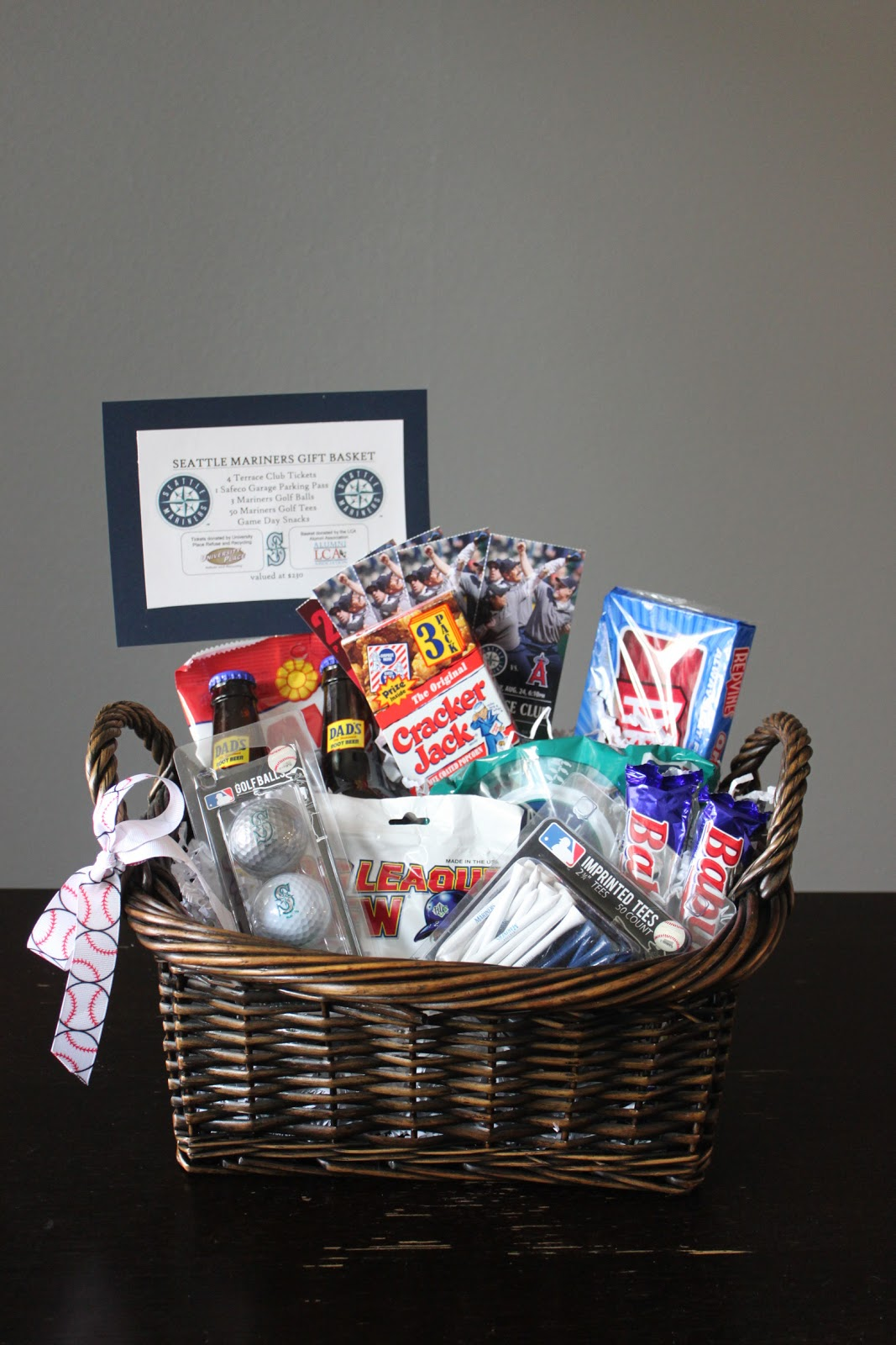 Easter Baskets For Adults My Dirty Aprons Seattle Mariners Gift Basket