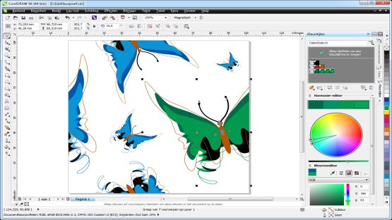Corel Draw Graphics Suite X6 screenshot 2