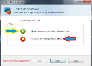 Delete an existing scheduled task