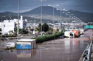 Πάνω από 1.300 τα κτήρια που έχουν πληγεί από τις πλημμύρες