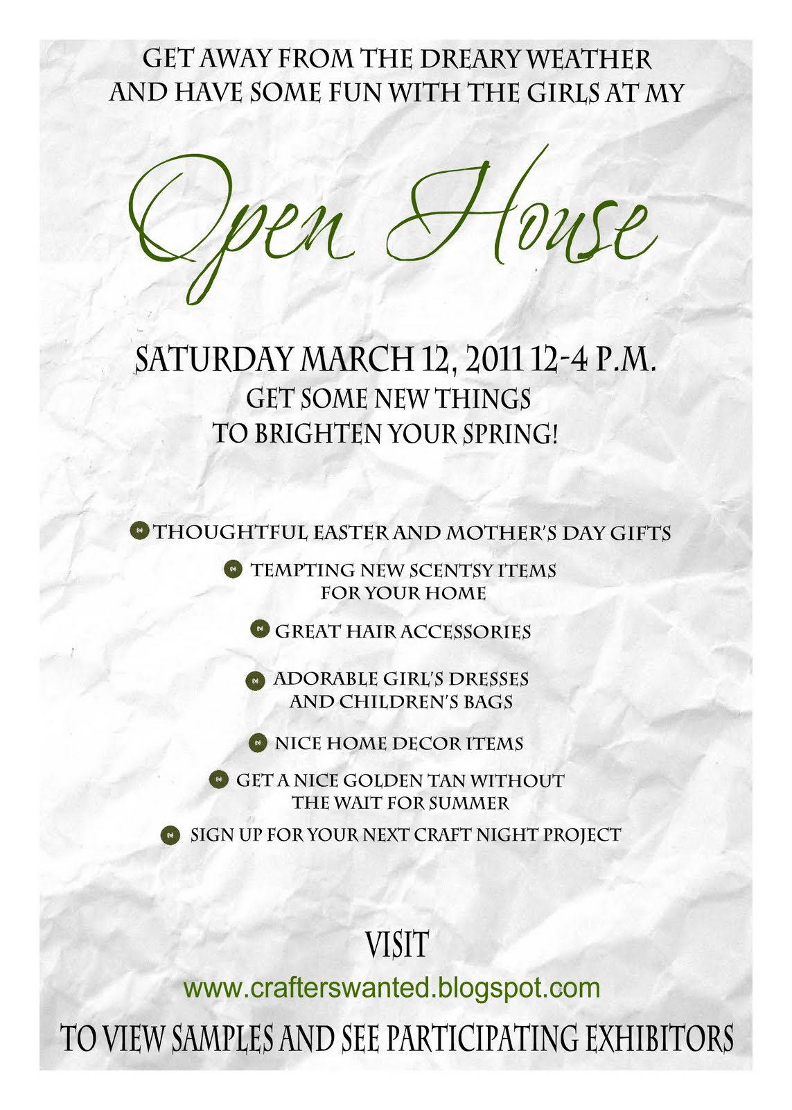 Open House Invitation Ideas