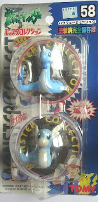 Dratini Pokemon figure Tomy Monster Collection series