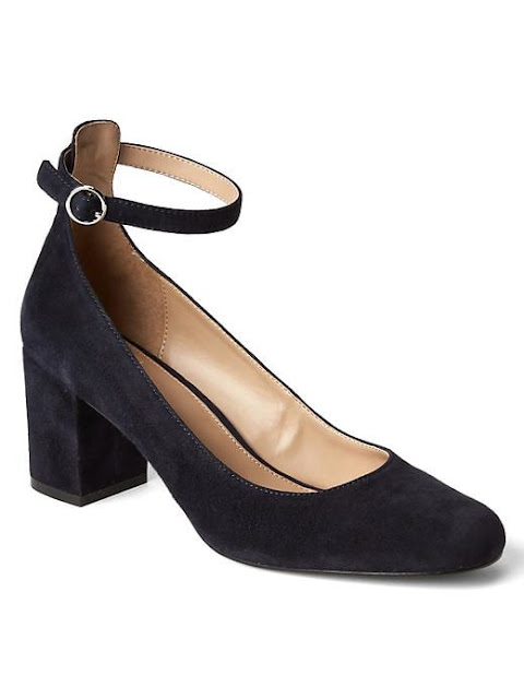 GAP Ankle Strap block heels