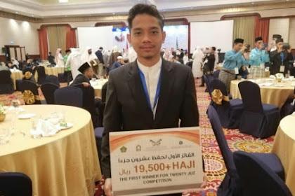 3 Tahun Hafal 30 Juz, Kini Juara I MHQH 2019 Dapat Hadiah Naik Haji