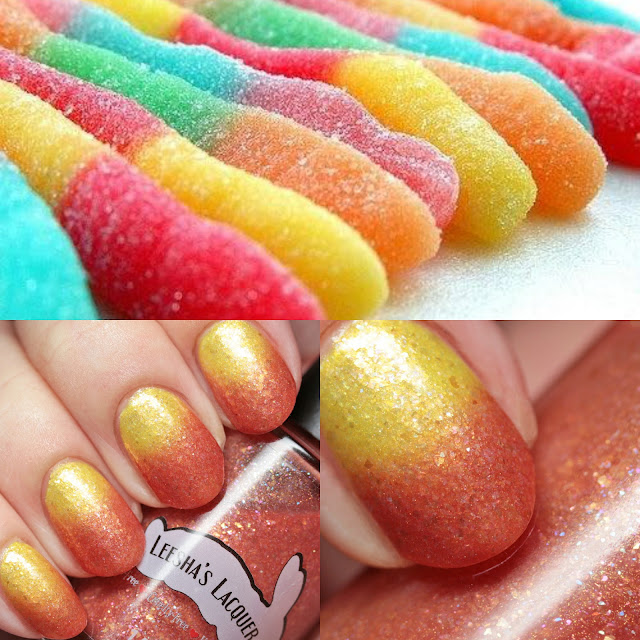 Leesha's Lacquer Gummy Worm Is the Word
