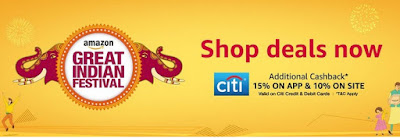 Amazon Great Indian Festival From Oct 17 - Best Deals on Mobiles and Electronics