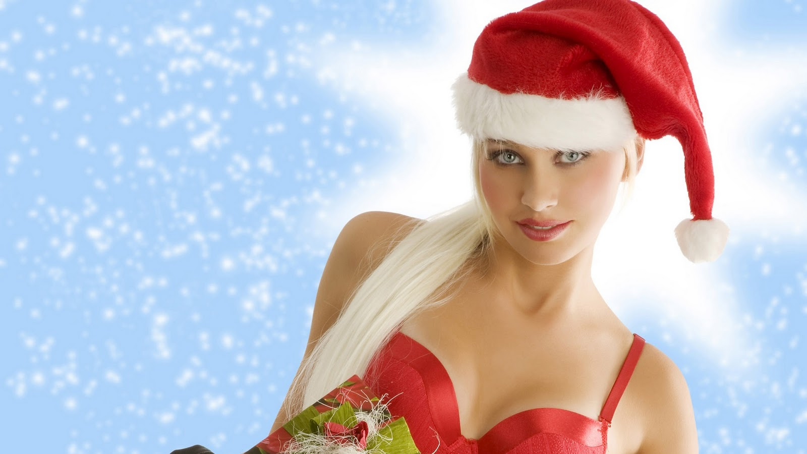 Wallpaper computer Sexy christmas