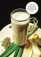 resep jus kacang hijau buah pisang