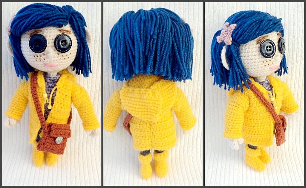 Amigurumi To Go Coraline : My homemade coraline dolls amigurumi to go